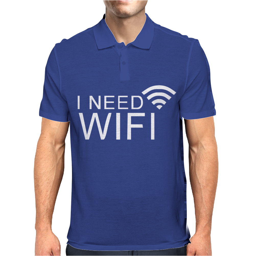 I need wifi Mens Polo