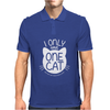 I Only Have One Cat My Cat Has A Few Cat Mens Polo