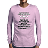 I Only Have Sex, Ideal Gift, Birthday Present funny Mens Long Sleeve T-Shirt