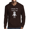 I Passed The Turing Test Alan Turing Geeky Enigma Computer Mens Hoodie