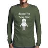I Passed The Turing Test Alan Turing Geeky Enigma Computer Mens Long Sleeve T-Shirt