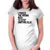 I Picked The Wrong Week To Quit Sniffing Glue Womens Fitted T-Shirt