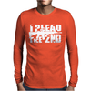 I Plead the 2nd. Mens Long Sleeve T-Shirt