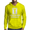 I POOPED TODAY Mens Hoodie