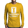 I POOPED TODAY Mens Long Sleeve T-Shirt