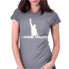 I Pooped Today Potty Toilet Womens Fitted T-Shirt