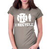 I Recycle Womens Fitted T-Shirt