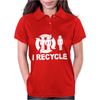 I Recycle Womens Polo