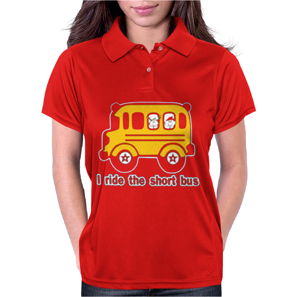 I Ride The Short bus Womens Polo
