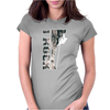 I Rock Climbing Womens Fitted T-Shirt