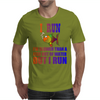 I RUN. SLOWER THAN A FISH OUT OF WATER Mens T-Shirt