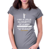 I See A Little Silhouetto Of A Man Womens Fitted T-Shirt