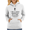 I See A Little Silhouetto Of A Man Womens Hoodie