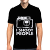 I Shoot People Mens Polo