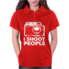 I Shoot People Womens Polo