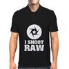 I Shoot Raw Fotografie Mens Polo