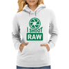 I Shoot Raw Photography Camera Photograph Womens Hoodie