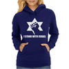 I Stand with Israel Womens Hoodie