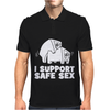 I support safe sex Mens Polo