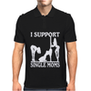 I SUPPORT SINGLE MOMS Mens Polo