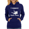 I Support Single Moms Stripper Pole Dancer Funny Saying Womens Hoodie