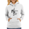 I support single moms Womens Hoodie