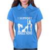 I SUPPORT SINGLE MOMS Womens Polo