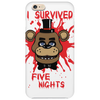 I survived five nights Phone Case