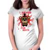 I survived five nights Womens Fitted T-Shirt