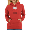 I think kids are a lot like farts you  don't mind your own but everyone else's are just God awful Womens Hoodie