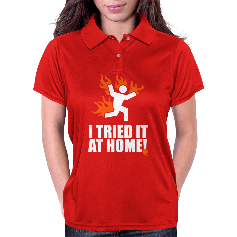 I Tried It At Home Womens Polo