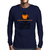 I Turn Coffee Into Code Mens Long Sleeve T-Shirt