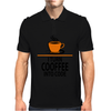 I Turn Coffee Into Code Mens Polo