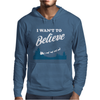 I Want To Believe Christmas Mens Hoodie