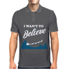 I Want To Believe Christmas Mens Polo