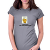 I want to know who cut the Cheese! Womens Fitted T-Shirt