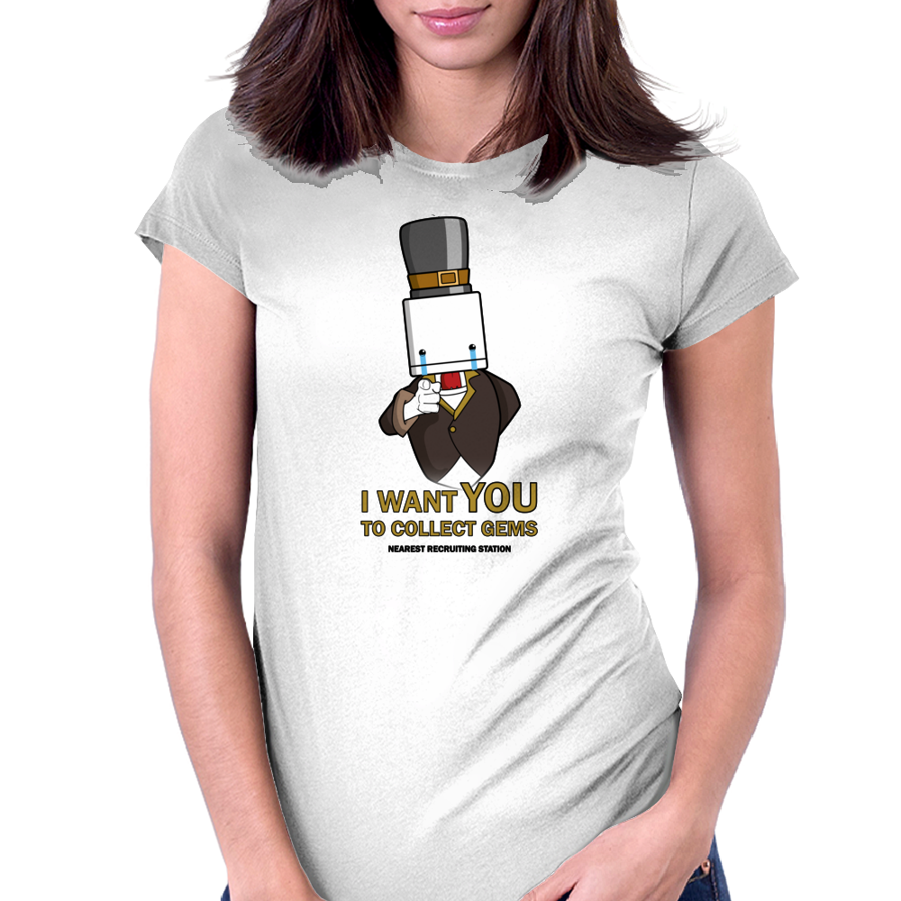 I want you! Battleblock Theatre Womens Fitted T-Shirt