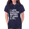 I Was Cycling Before It Was Cool Womens Polo