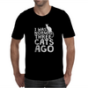 I Was Normal Three Cats Ago LOL Funny Cat Mens T-Shirt