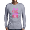 I Wear Pink For My Mom - Breast Cancer Awareness Mens Long Sleeve T-Shirt