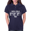 I Wish I Could CTRL ALT DEL You Womens Polo