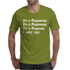 I Write Code Mens T-Shirt