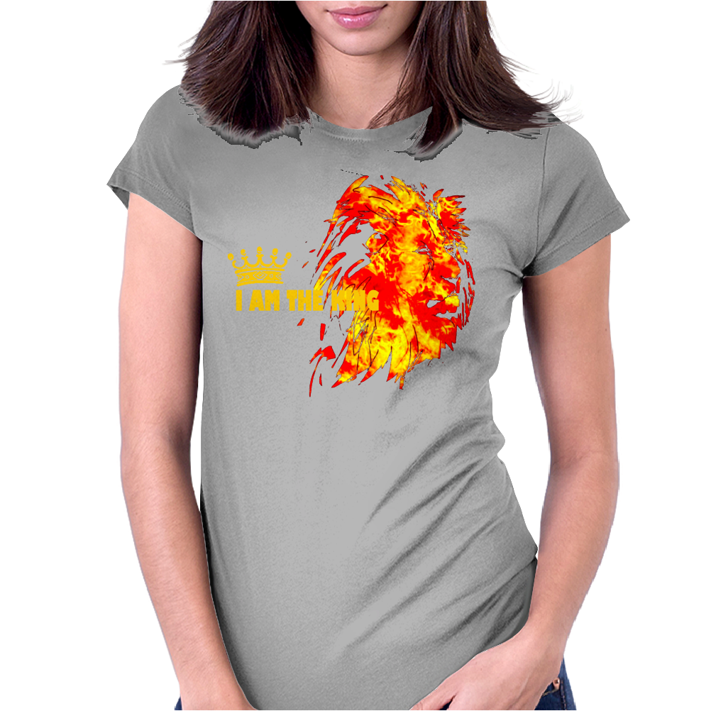 I'am the king Womens Fitted T-Shirt