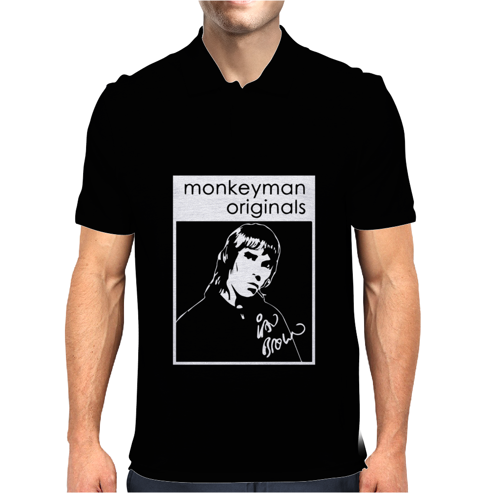 Ian Brown Tribute Mens Polo