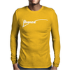 IBANES NEW Mens Long Sleeve T-Shirt