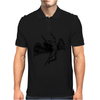 ICARUS THROWS THE HORNS - black Mens Polo