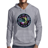 ICARUS THROWS THE HORNS - lavendar circle Mens Hoodie