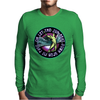 ICARUS THROWS THE HORNS - lavendar circle Mens Long Sleeve T-Shirt