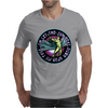ICARUS THROWS THE HORNS - lavendar circle Mens T-Shirt
