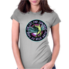 ICARUS THROWS THE HORNS - lavendar circle Womens Fitted T-Shirt